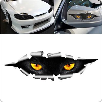 1 Pcs 210 x 50mm Car Styling Funny 3D Eyes Car Sticker Waterproof Peeking Monsters Decals Stickers