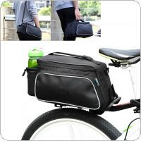 ROSWHEEL Waterproof 10L Cycling Bicycle Bike Tail Rear Rack Seat Bag Outdoor Travel  Pouch Bicycle Bags