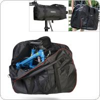 Roswheel Folding Bike Loading Bag 420D Polyester Anti-tear Bicycle Carrier Bag Pack Storage Loading Package With Receive Bag