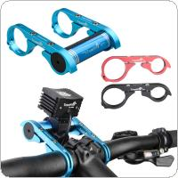 TrustFire Carbon Fiber Lighthouse Bike Bicycle Handlebar Extender Extension Mount Bracket Holder for Flashlight