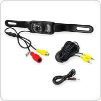 Waterproof 7 LED IR Night Vision 1/3 Inch Color CMOS Car Rear View Camera