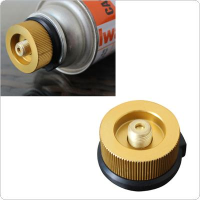 AOTU Outdoor Hiking Camping Burner Conversion Stove Adaptor Split Type Furnace Connector Gas Cartridge Tank Adapter
