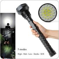 Waterproof 32000 LM 24x XML T6 LED Flashlight 5 Modes Torch 26650 / 18650 Camping Lamp Light Tactical Flashlights