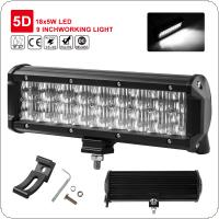 9Inch 90W 5D Lens LED Light Bar Flood Spot Work Lamp SUV ATV 4WD