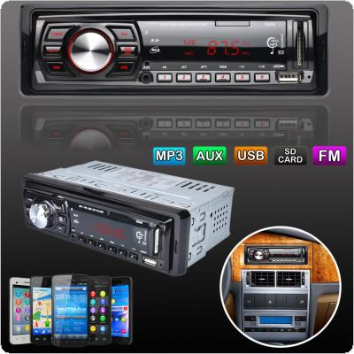 In-Dash FM Car Input Receiver Stereo 50W x 4 LCD Display SD USB MP3 WMA Radio Player