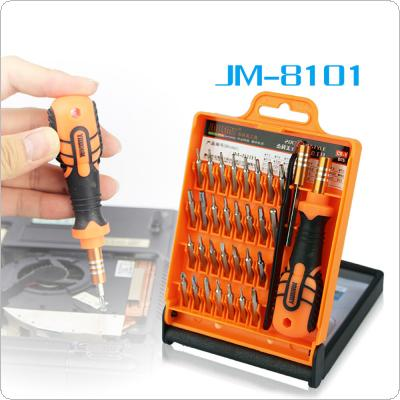 Precision 33 in 1 Disassemble Screwdriver Set Household Tools for Laptop Phone JAKEMY JM-8101