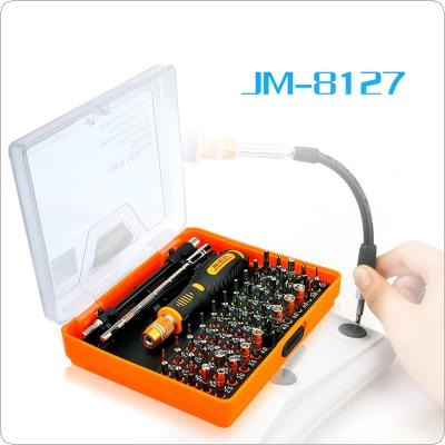 Precision 53 in 1 Multi-purpose Magnetic Screwdriver Set Disassemble Household Tools for phone Pc JAKEMY JM-8127