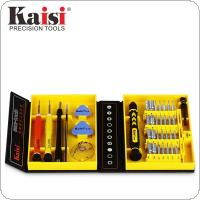 Kaisi Precision 38 in 1 Screwdriver Set Of Chrome Vanadium Steel Disassemble Household Tools Fit for iPhone / ipad