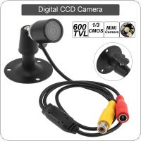 1080P 600TVL 1/3IN Effio-e CCD Mini Hidden Surveillance Bullet CCTV Camera with Sensor