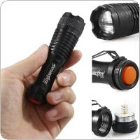 SKYWOLFEYE E504 Zoomable 300LM XPE LED Light 3 Modes Flash Waterproof Torch Lamp