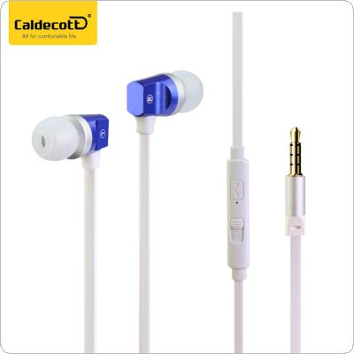 Caldecott Stereo Sport Earphone Super Bass Noise Canceling Hifi Earbuds With Mic