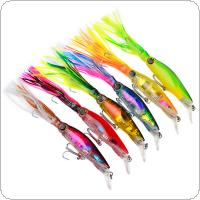 1pcs Fishing Tackle Sleeve Fish Fishing Lure 14cm/40g Artificial Squid Fishing Baits