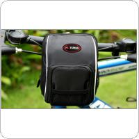 Waterproof Sport Bike Handlebar Bag Top Frame Toolkit Front Pack  with Rain Cover Bicycle Accessories