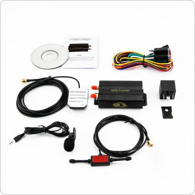 SMS/GSM/GPRS G-Fence Alarm Realtime Tracker Location Tracking Device for Car Motorcycle