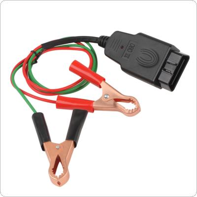 OBD2 Car Diagnostic Cables & Connectors Memory Saver ECU Power Interface Connector Vehicle ECU Emergency Power for 12V DC Power Source Supply Cable