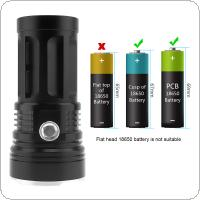 14x XML-T6 LED 3000 Lumens Super Bright Backpacking Hunting Fishing Flashlight Torch Flash Lamp