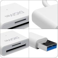 Superspeed USB 3.0 SD / Micro SD Card Reader SD / MicroSD / TF Trans-flash Card USB3.0 Adapter Converter Tool