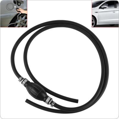 Universal Motor Fuel Gas Hose Line Assembly with Rubber Primer Bulb for Car Boat Yacht Tractor 6mm / 8mm / 10mm / 12mm