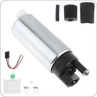 GSS342 255Lph High Flow Universal In-tank Gasoline Fuel Pump for Nissan / Toyota / Honda / Buick / Racing and Tuning Cars