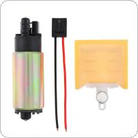 120L/H High Performance Car Electric Fuel Pump & Strainer Install Kit for TOYOTA / Ford / Nissan / Honda