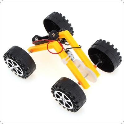 Mini L-type Robot Car of DIY Science and Technology Hand-made Educational Assembly Smart Car Kit for Children