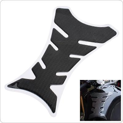 3D Carbon Fiber Weave Protector Pad Sticker For Motorcycle