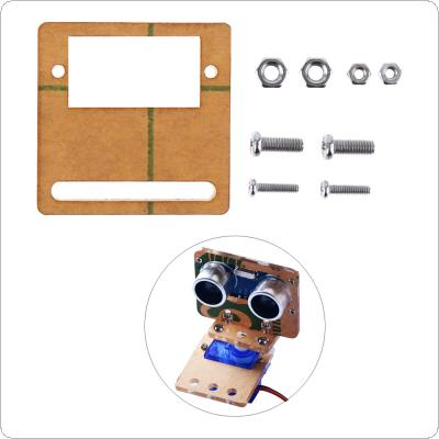 Smart Car Mounting Bracket Suitable for Ultrasonic Ranging Module Analog  Servo
