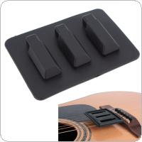 Acoustic Classical Guitar Mute Silica Gel Practice Silencer Parts Accessories