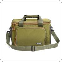 Outdoor Canvas Fishing Bag Multifunctional Fishing Tackle Shoulder Messenger Sport Bags
