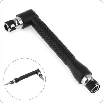L-shape Mini Double Head Socket Wrench Suitable for Routine Screwdriver Bits Utility Tool