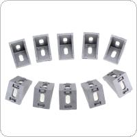 10pcs 3030 System Aluminium Angle Code Nut Hole Support T-slot 2835 Triangular Frame for Connecting The Flow Profile
