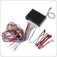 Car Alarm System Vehicle Keyless Entry System 12V with Remote Control & Door Lock Automatically