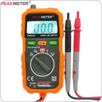 PM8232 Digital Multimeter Portable DC / AC Ammeter Capacitance Tester with Non-contact Digital LCD Display & Test Probe