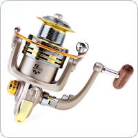 3000-5000 Series 8 Ball Bearings 5.2:1 Spinning Fishing Reel with Foldable Handle and Metal Line Cup