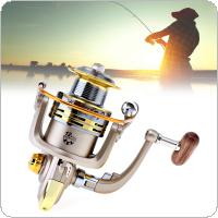 6000-7000 Series 8 Ball Bearings 5.2:1 Spinning Fishing Reel with Foldable Handle and Metal Line Cup