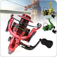 7000 Series 13+1 Ball Bearings 4.7:1 All-Metal Foldable Arm Spinning Fishing Reel 3 Colors Optional with EVA Handle