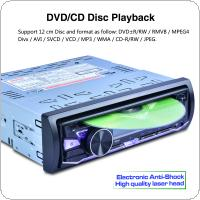 RK-8828B 12V 1 Din Bluetooth Car DVD player Support VCD / SD / USB / AUX Built in AM / FM / RDS Radio Stereo