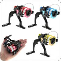 High Speed Gear Ratio 5.2:1 Spinning Small Fishing Reels with 50M Fishing Line 3 Colors Optional