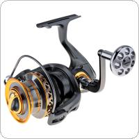 Aluminum Spool Spinning Fishing  Reel 6000 / 7000 Series 13+1 Ball Bearings Long Distance Surfcasting Reel with Metal Handle