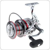 Full Metal Spinning Fishing Reel 12000 Series 14+1 Ball Bearing Long Distance Surfcasting Wheel with Larger Spool