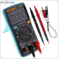 RM102 Multimeter AC / DC Ammeter 6000 Counts Voltmeter Ohm Frequency Diode with Temperature Test  Function