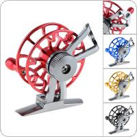 Full Metal Ultra-Light Former Ice Fishing Reel Fly Fishing Wheel CNC Machined Aluminum 4 Colors Optional