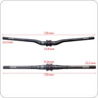 FCFB 3K Glassy T800 Carbon Fiber Handlebar for Mountain Bicycle