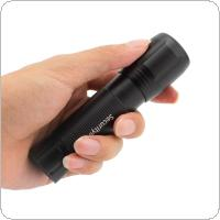 SecurityIng 270Lm XPG2 LED 3 Modes Mini Aluminum Alloy Flashlight Waterproof Torch Light