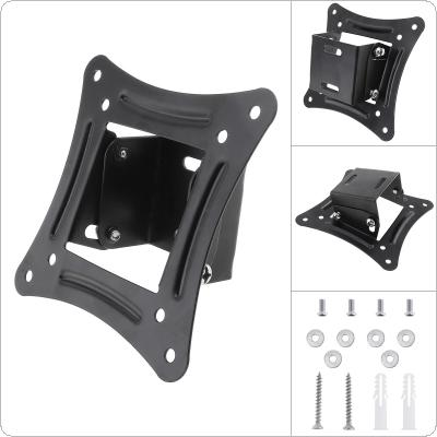 Universal TV Wall Mount Bracket Fixed Flat Panel TV Frame Support 15 Degrees Tilt Angle for 10-26 Inch LCD LED Monitor Flat Panel