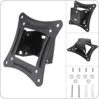 Universal TV Wall Mount Bracket Fixed Flat Panel TV Frame Support 15 Degrees Tilt Angle for 14-26 Inch LCD LED Monitor Flat Panel
