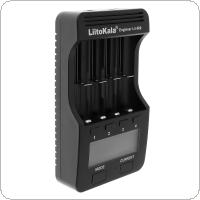 Liitokala Lii500 4 Independent Slots Smart Charger with LCD Display for 3.7V 1.2V 18650 26650 16340 14500 10440 18500 AA AAA Ni-MH / Ni-Cd / Lithium Batteries