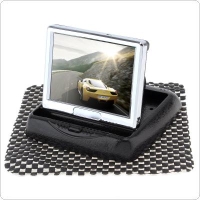 3.5 Inch Foldable HD 480 x 234 Car Rear View Monitor with 2-Channel Video Input and TFT-LCD Display Support DVD / VCD