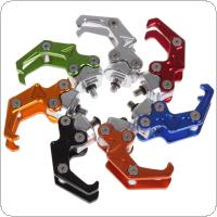 Durable 6mm Screw Aluminum Motorbike Decorate Hanger CNC Hook