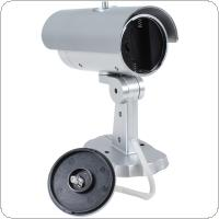 18 False IR LEDs Emulational Fake Decoy Dummy CCTV Camera with Red Blinking LED Light